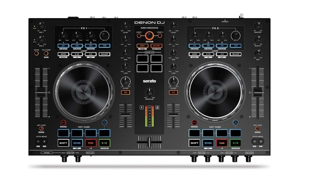 Denon DJ MC4000 Premium 2-Channel DJ Controller Review